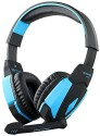 Finegood Kotion Each G4000 Usb Stereo Gaming Headphone Headset Headband With Microphone Volume Control Led Light For Pc Game Headphones (Light Blue)