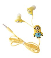Minions In ear Z20 Wired Headphones