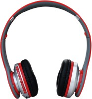 Obs Bluetooth Stereo/MP3 Headset (red) Stereo Headphone With MIC Wired & Wireless Bluetooth Headphones Headphone Wired & Wireless Bluetooth Headphones (Red, Over The Ear)