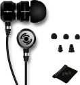 Tekfusion - Twinwoofers In-Ear Headphones Black Chrome Edition: Headphone