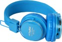 Digitek DBH-001 Over-the-ear Wireless Bluetooth Headphones (Blue, Over The Ear)
