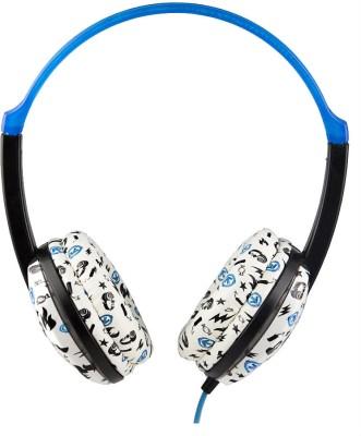 AERIAL7 Arcade Sonic Over-the-ear Headphone Blue & Black, Over the Head