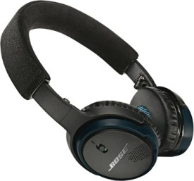 Bose SoundLink On Ear Wireless Bluetooth Headphones (Black & Blue, On The Ear)