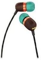 House Of Marley EM-JE000-RA Jammin Collections Smile Jamaica In-the-ear Headphone: Headphone