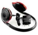 Brox BH-503 Stereo Dynamic Headphone Wireless Bluetooth Headphones (Black, Red, Over The Ear)