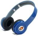 ACID EYE High Bass SHOLO-BH-450 With Inbuilt FM Bluetooth Headphone Stereo Dynamic Headphone Wireless Bluetooth Headphones (Blue, Over The Ear)