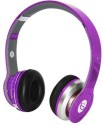 Soodo Beatz SOLO S450 With FM RADIO SD Card Slot And Call Buttons Facility High Quality Stereo Dynamic Headphone Wired & Wireless Bluetooth Headphones (Purple, Over The Ear)