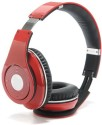 Fadedge Beatz Solo2 S460 Premium Quality Stereo Dynamic Headphone Wireless Bluetooth Headphones (Red, Over The Head)