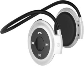 Fresh Beatz High Quality MINI 503 Stereo Dynamic Headphone Wireless Bluetooth Headphones (White, Over The Ear)