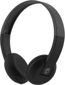 Skullcandy Uproar S5URHW-509 Wireless Stereo Dynamic Headphone Wireless Bluetooth Headphones (Grey Black, On The Ear)