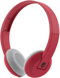 Skullcandy Uproar S5URHW-462 Wireless Stereo Dynamic Headphone Wireless Bluetooth Headphones (Red Black, On The Ear)