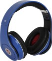Castech Solid Delight Stereo Dynamic Headphone Wireless Bluetooth Headphones (Blue, Black, Over The Ear)