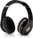 Soodobeatz STUDIO STN10 High Quality Stereo Dynamic Headphone Wired & Wireless Bluetooth Headphones (Black, Over The Ear)