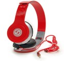 ROBMOB Signature VM 46 Stereo Dynamic Headphone Wired Headphones (RED, Over The Ear)