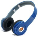 ACID EYE High Bass STOLO-BH-450 With Inbuilt FM Bluetooth Headphone Stereo Dynamic Headphone Wireless Bluetooth Headphones (Blue, Over The Ear)
