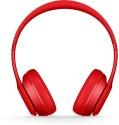 Swiss Beatz Premium Quality Solo P847 Stereo Dynamic Headphone Wired & Wireless Bluetooth Headphones (Red, Over The Ear)