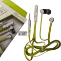 LatestTrend 2 In 1 On-the-ear Headphone With Mic Wired Headphones For Sony Xperia Z3 Plus (Xperia Z4) Stereo Dynamic Headphone Wired Headphones (Green, Over The Ear)