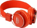 Digitek DBH-001 Stereo Dynamic Wireless Bluetooth Headphones (Red, Over The Ear)