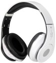SOODO BEATZ Studio Stn10 With Fm And Memory Card Slo (PTC) Stereo Dynamic Wired & Wireless Bluetooth Headphones (White, Over The Ear)