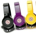 CONVENIENCE Vm46 Signature Headphones For Moto G1/ G2/ G3 Stereo Wired Headphones (MULTI COLOR, Sent As Per Availabillity, Over The Ear)