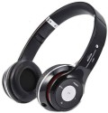 Basetronix Solo TM-12 Stereo Dynamic Wireless Bluetooth Headphones (Black, Red, White, On The Ear)