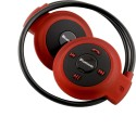 JT Professional Stereo High Bass With Call Function Wireless Bluetooth Headphones (Red, Over The Ear)