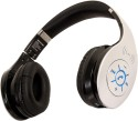 SoundLogic Dynabass Bluetooth & NFC Headphone Stereo Wireless Bluetooth Headphones (Silver, On The Ear)