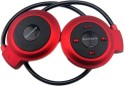 Bindaasdeals Mini 503TF Stereo Bluetooth Headphones (Red, Black, On The Ear)