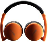 Boompods Airpod Stereo Wireless Bluetooth Headphones (Orange, Over The Ear)