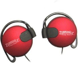 Zebronics EM1020 Red Stereo Wired Headphones