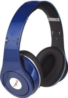 Primeval TM 003S Superior Quality Stereo Dynamic Wired & Wireless Bluetooth Headphones (Blue, Over The Ear)