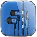 V & B Gallery Xiaomi-Piston-Ii-Earphone-Headphones-With-Remote-Mic-For-Xiaomi Wired Gaming Headset (Blue)