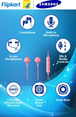 Samsung HS130 with mic In-the-ear Headset