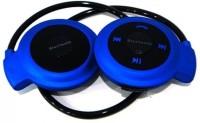 Attitude Mini503 111-13 Wireless Bluetooth Headset With Mic (Blue)