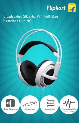 Steelseries Siberia V/1 Full Size Headset (White)