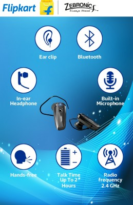 Zebronics ZEB-BH498 Wireless Bluetooth Headset
