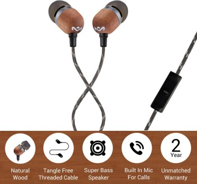 House of Marley EM-JE041-MI Wired Headset