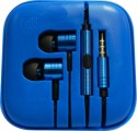 Amaze Fashion Earphones For Xiaomi Models Wired Gaming Headset (Blue)
