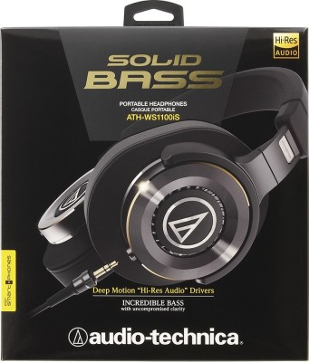 Audio-Technica ATH-WS1100iS Over the Ear Headset