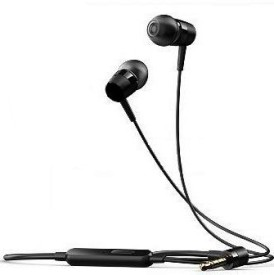 BJ GOLD Asus-Headphone-Asus-PadFone Earpods EarBuds Earphones Handsfree Headphones Wired Bluetooth Headphones (BLACK, In The Ear)