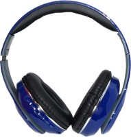 Muren MK26-STN-13-3, 4 In 1 MP3/FM/SD Card/Handsfree Function Wireless Bluetooth Headset With Mic (Blue)