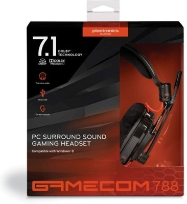 Plantronics Gamecom 788 Wired Headset