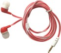 Meiro Samsung, Apple, Motorola, Micromax, HTC, Intex, Lenovo, Redmi, Sony, Spice, Nokia In-Ear Purple Headphone 3.5mm Headset With Mic By Meiro NYC Wired Headset (Red)