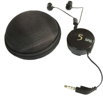 Blau-Funf-Retractable-stereo-Headset