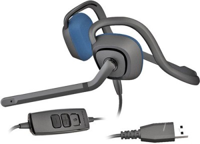 Plantronics Audio 646 DSP Behind the Neck Wired Headset