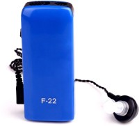 Axon Professional Pocket Ear Sound Amplifier F-22 In The Ear Hearing Aid (Blue)