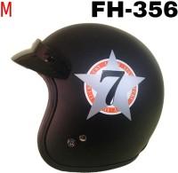 2f8c6323 50% OFF on THH Fh-356 Open Face Orange Star Black Base Motorbike Helmet - M  on Flipkart | PaisaWapas.com