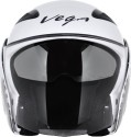 Vega Eclipse Monster Army Motorsports Helmet - Medium - White, Silver