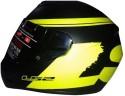 LS2 Bulky Motorsports Helmet - L - Matt Black, Yellow