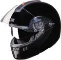 Studds Ninja 3G Double Visor Motorsports Helmet - L - Black